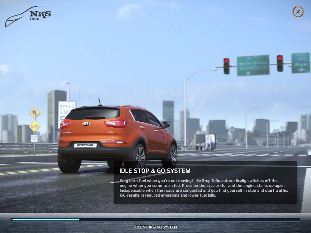 Nueva Aplicación del KIA Sportage para el iPAD