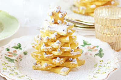Shortbread Christmas trees recipe