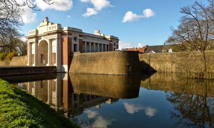 Menin Gate, Ypres, Last Post, Blomfield