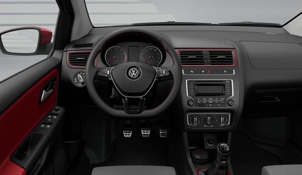Novo VW Fox 2015 - Pepper - painel