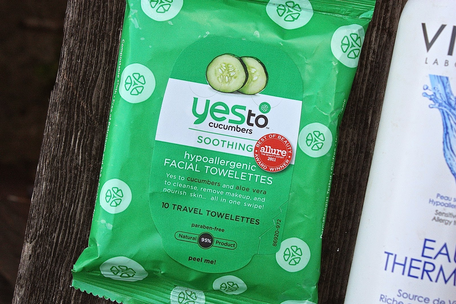 Yes to Cucumber Face wipes. Cool Summer Heroes.