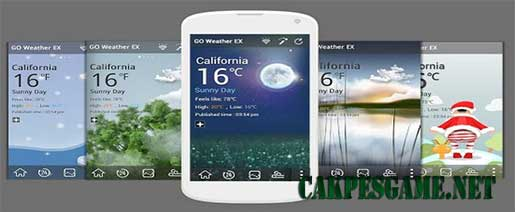GO Weather Forecast & Widgets Premium Apk v5.52