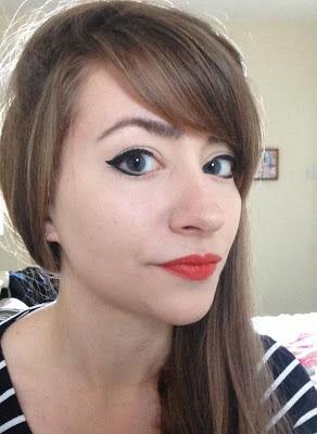 Orange lipstick review