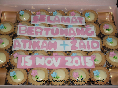 Cheese Tart Hantaran 35pcs in box