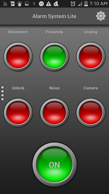 Android Mobile Alarm System செயலி