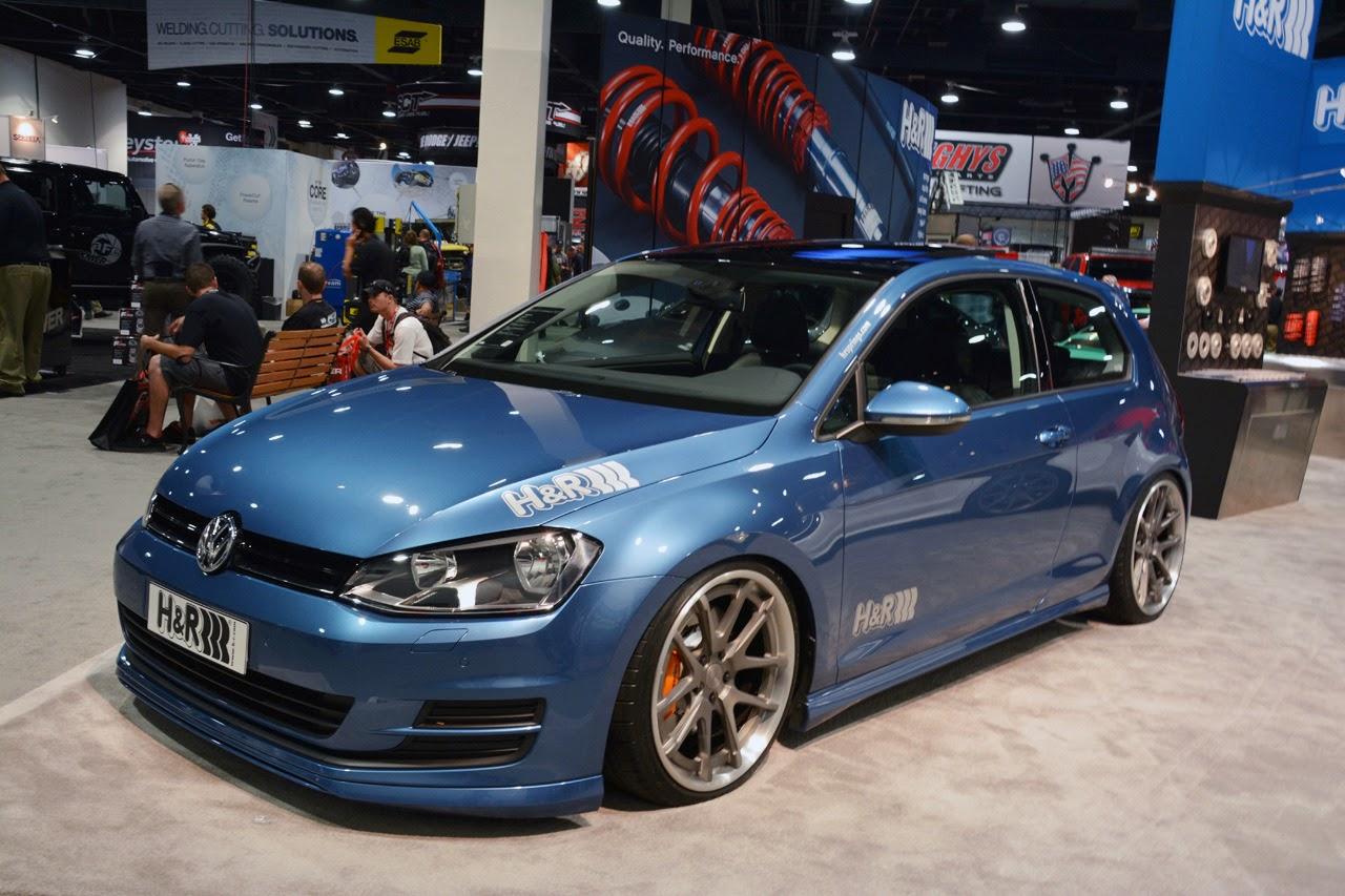 2015 VW Golf: SEMA 2013 Photos