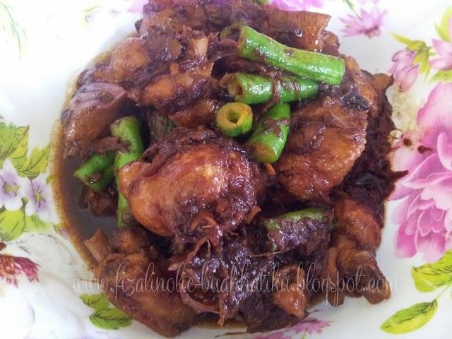 Ayam Masak Kicap Paling Mudah Nak Buat