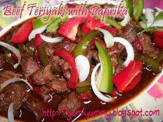 Beef Teriyaki With Paprika