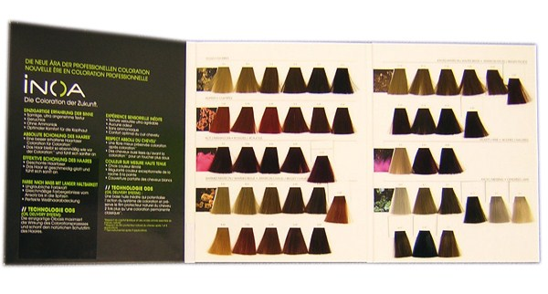 Loreal Hair Color Book