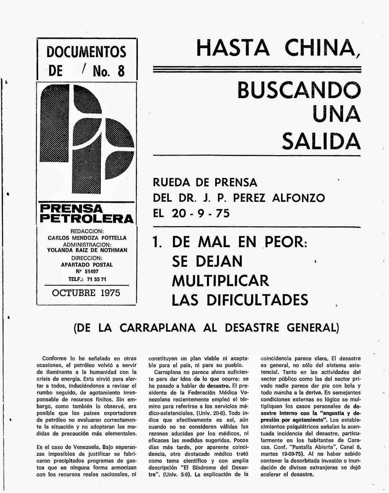 Prensa Petrolera - Documentos Nº 8