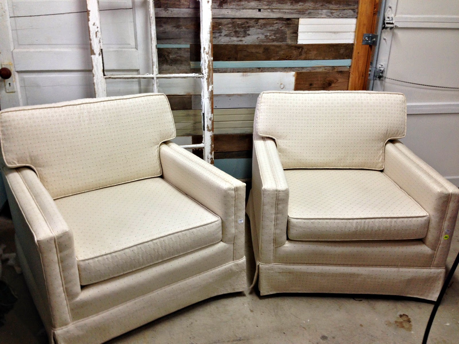 Mid Century Chairs Before