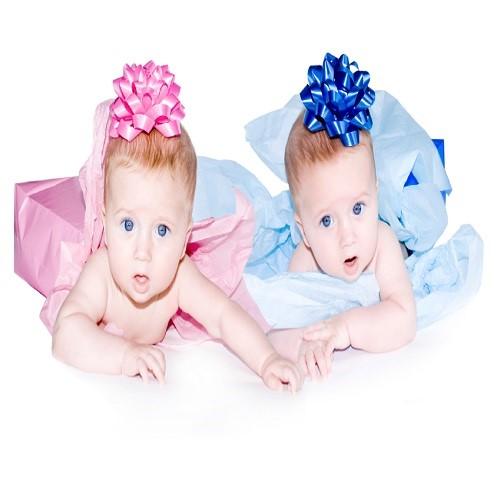 Photo bébé jumeaux