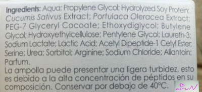 ingredientes ampollas endocare flash