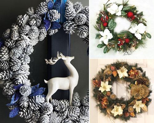 0 Decoração de Natal   Dicas de lindas guirlandas