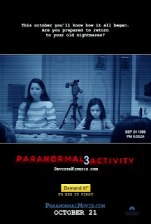 Filme Poster Atividade Paranormal 3 TS XviD & RMVB Legendado