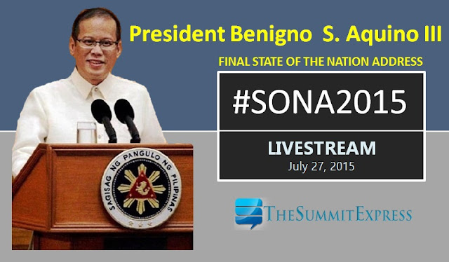 SONA 2015 Livestream video now available