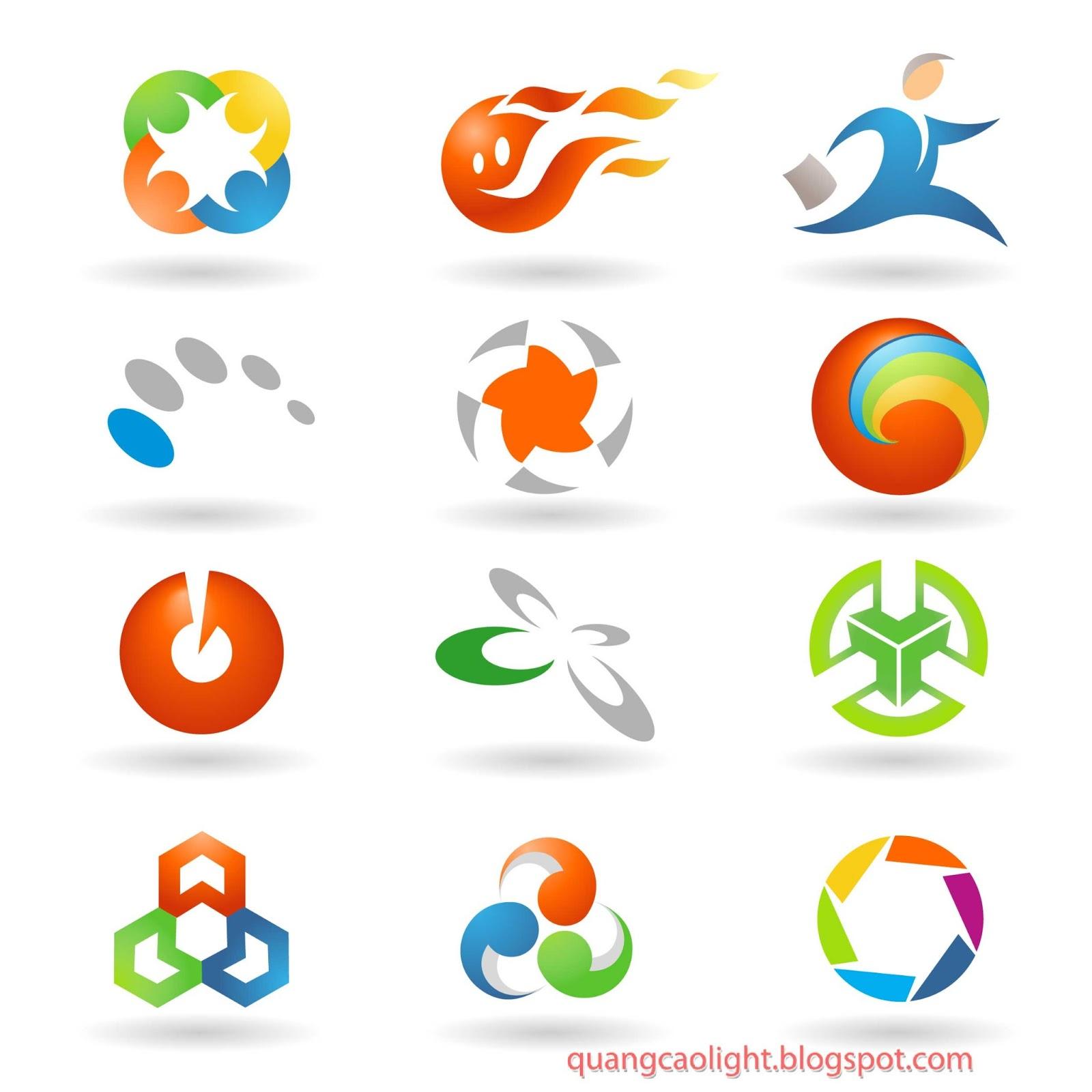 Векторный клипарт логотипы в cdr 3