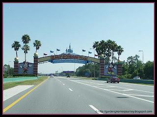 Walt Disney World Sign in Florida