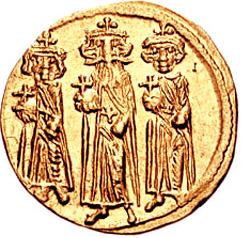 Open-Minded Rare Ancient Byzantine Cyprus 610-641 Heraclius Constantine Martina Follis Coins & Paper Money