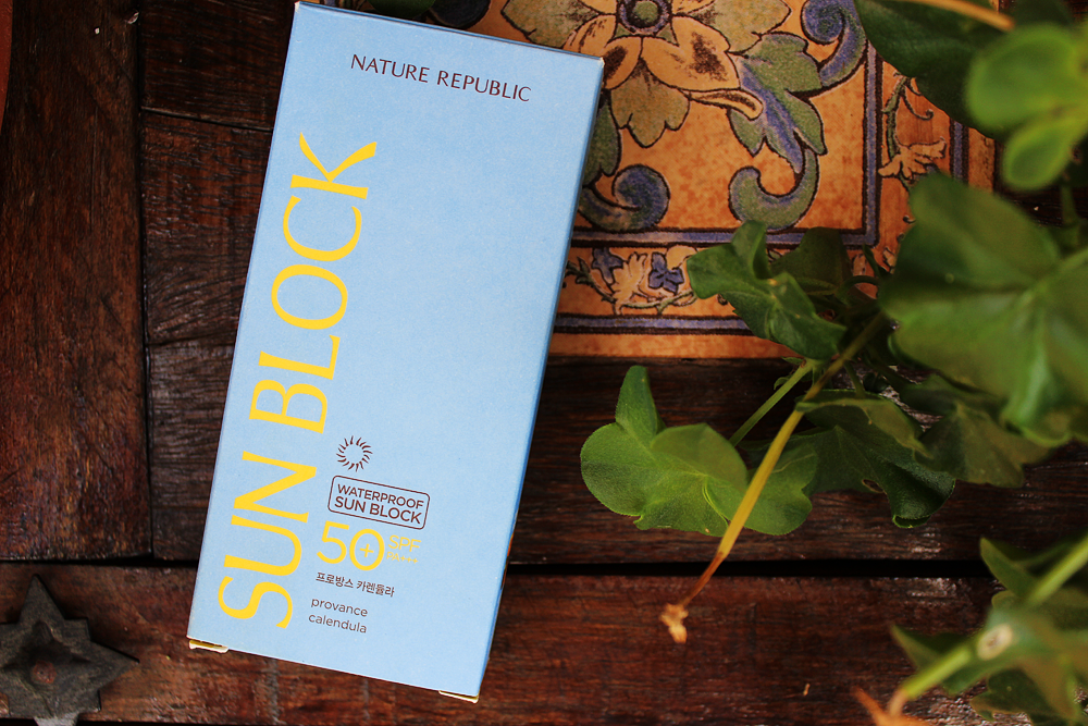 Nature Republic Provence Calendula Waterproof Sun Block package