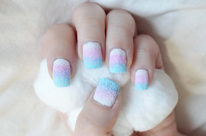Cotton Candy Nails - Cotton Candy Nails « Tineey