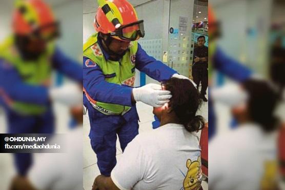 Gelandangan Dipukul Dengan Botol Arak Kerana Tegur Budak Kencing