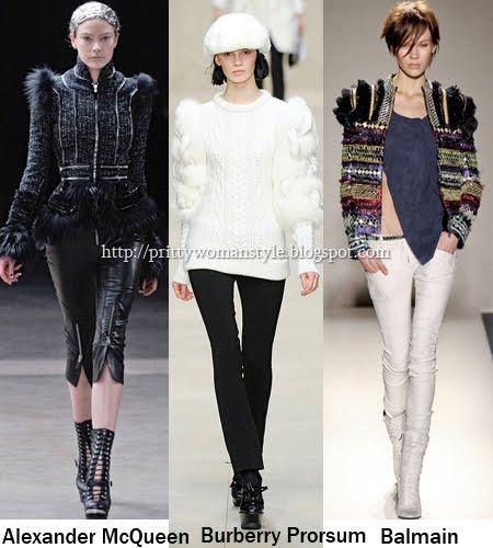 плетени дрехи с кожи, мъниста, метални ципове