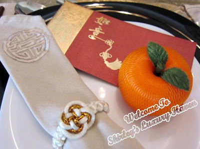 learn how to make pretty oranges for cny
