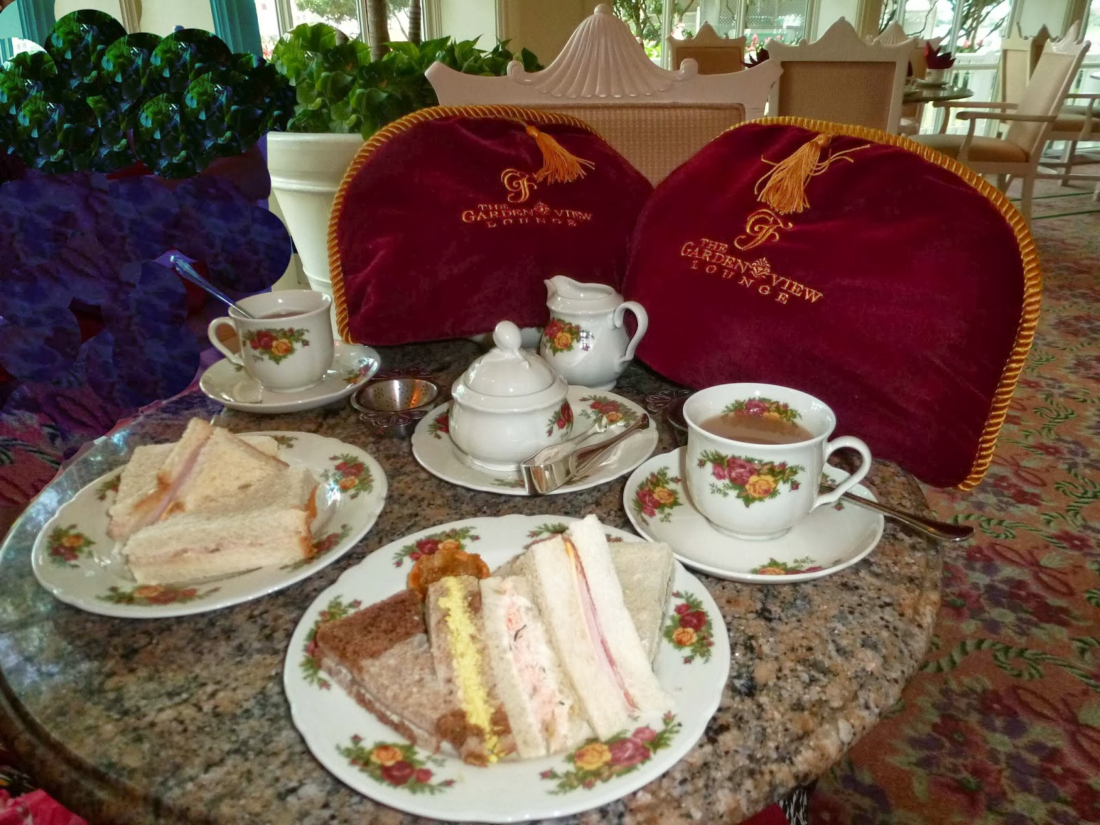 Disney Dining High Tea Afternoon Tea At Grand Floridian 39 S Garden View Tea Room Tips From