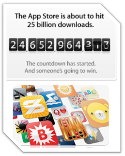 Promo: Download the 25 billionth App on App Store and have a chance to win a US$10,000 App Store Gift Card