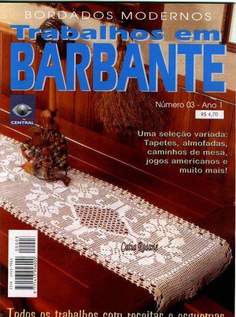 Revista con esquemas crochet