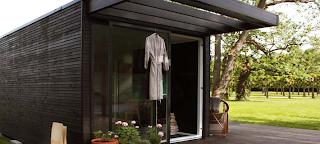 Small modular house, Sweden
