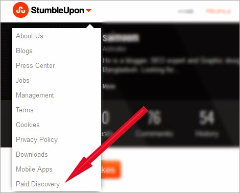stumbleupon paid discovery ads