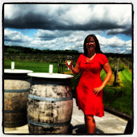 Wine tasting at Wickham