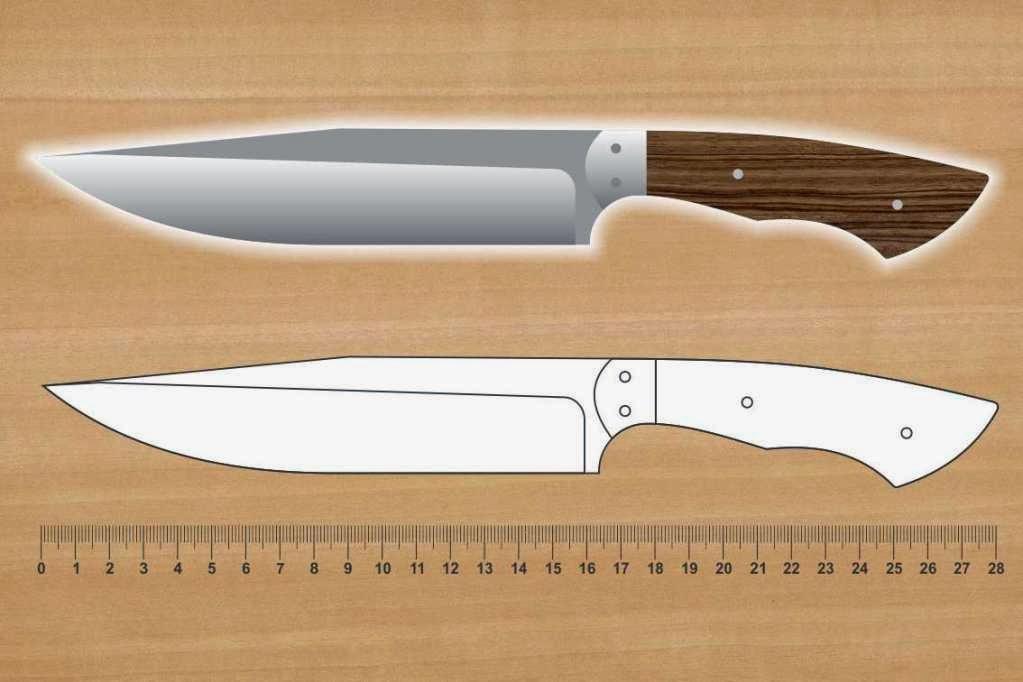 Fac n chico moldes de cuchillos - Como hacer soporte para cuchillos ...