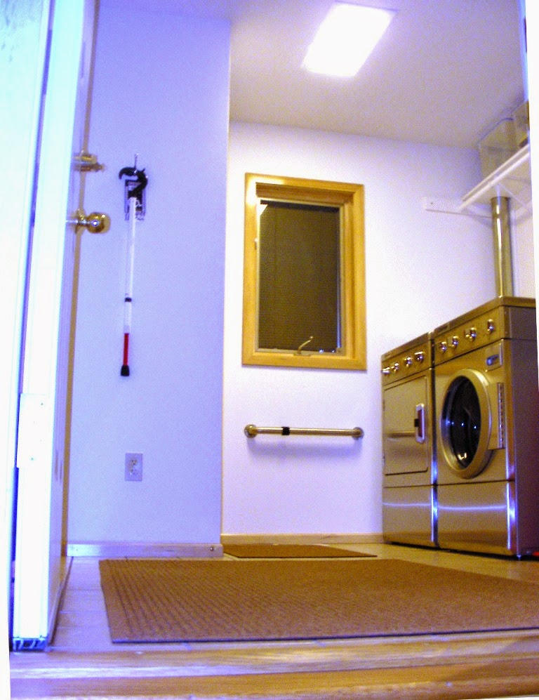 LED Pixi Flat Panel Light Replaces My Laundry Room