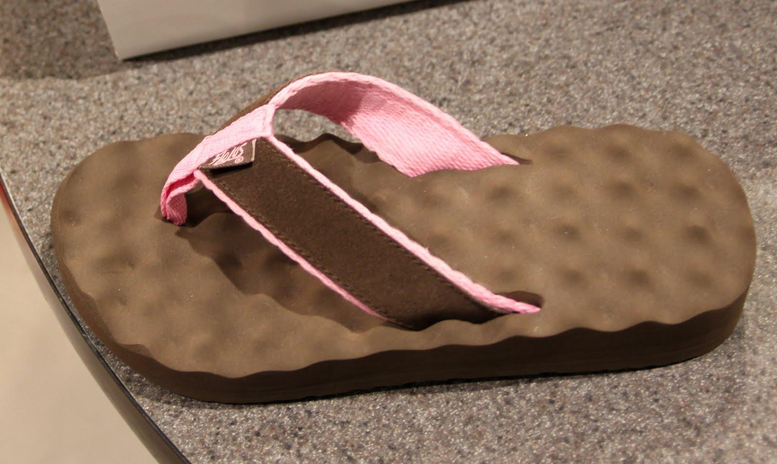 XENA $31 waffle/egg crate flip flops
