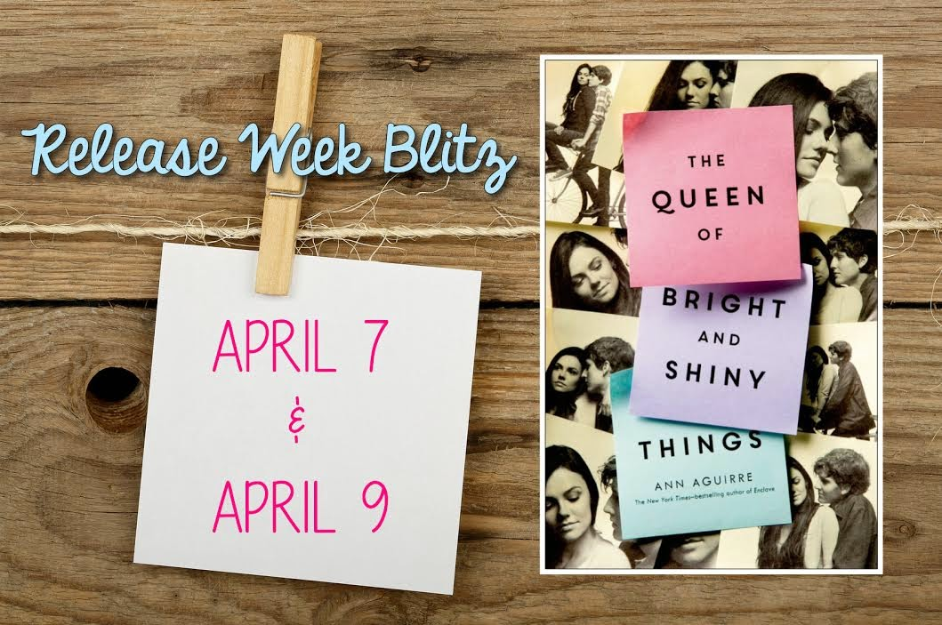 The Queen of Bright and Shiny Things Release Blitz Banner
