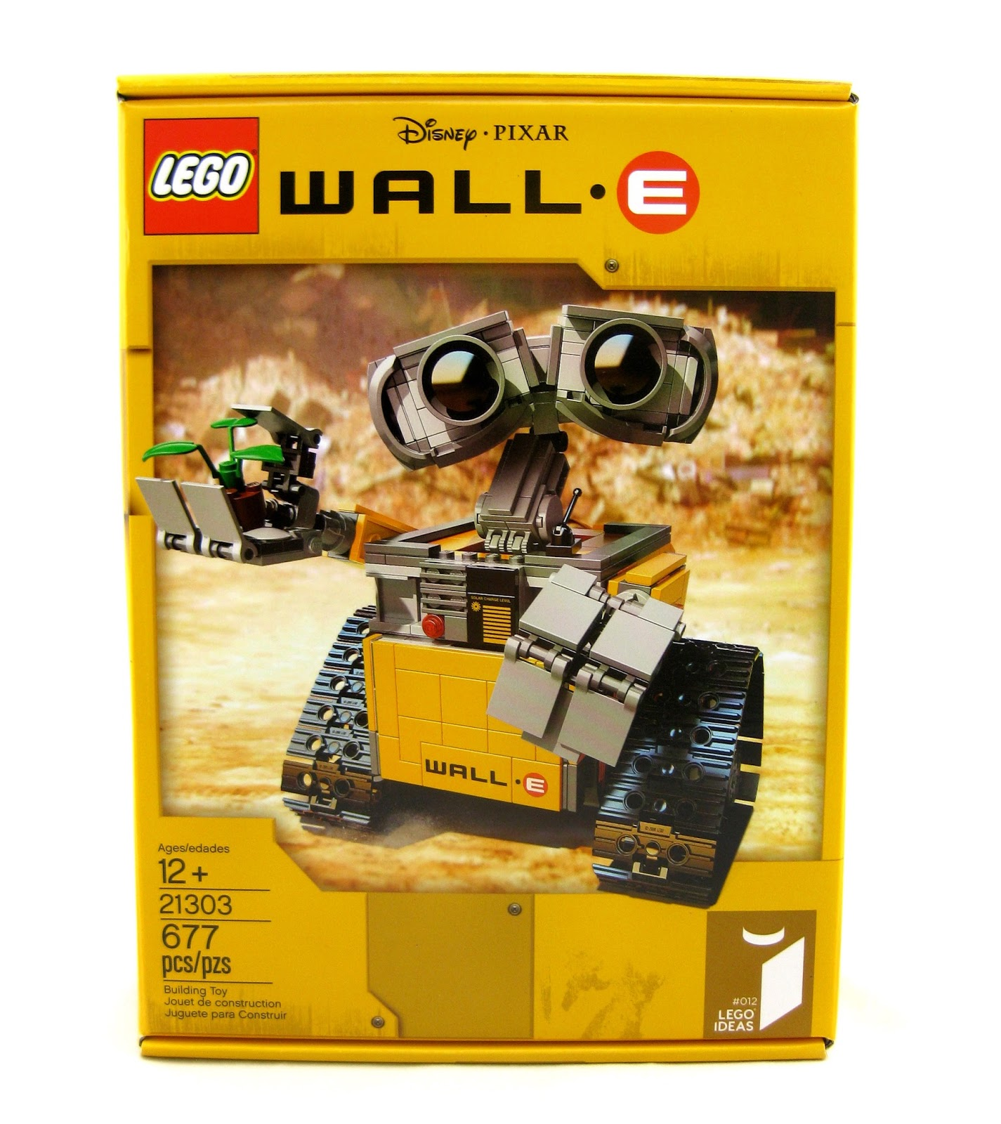 Dan the Pixar Fan: WALL·E: LEGO Set