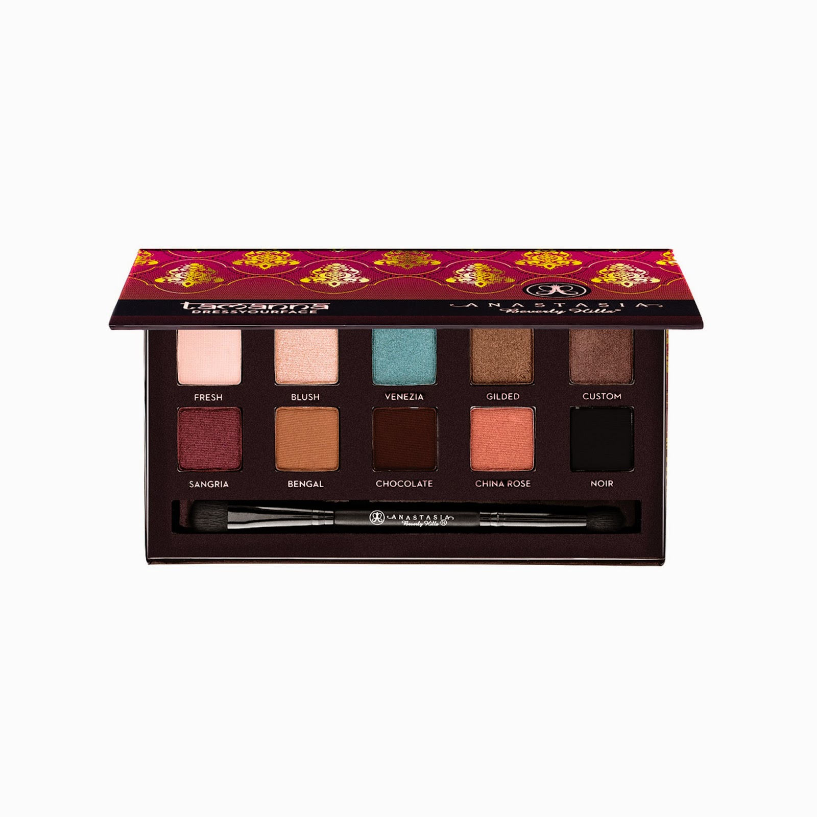 Anastasia Beverly Hills Tamanna Palette, Fall and Holiday 2014 Collection