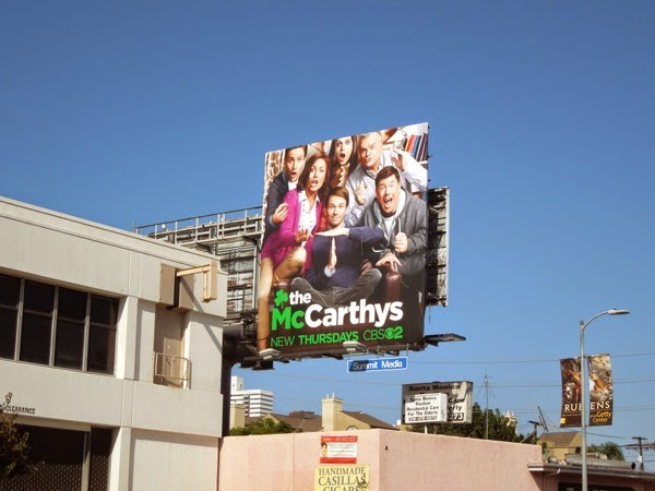 The McCarthys series premiere billboard
