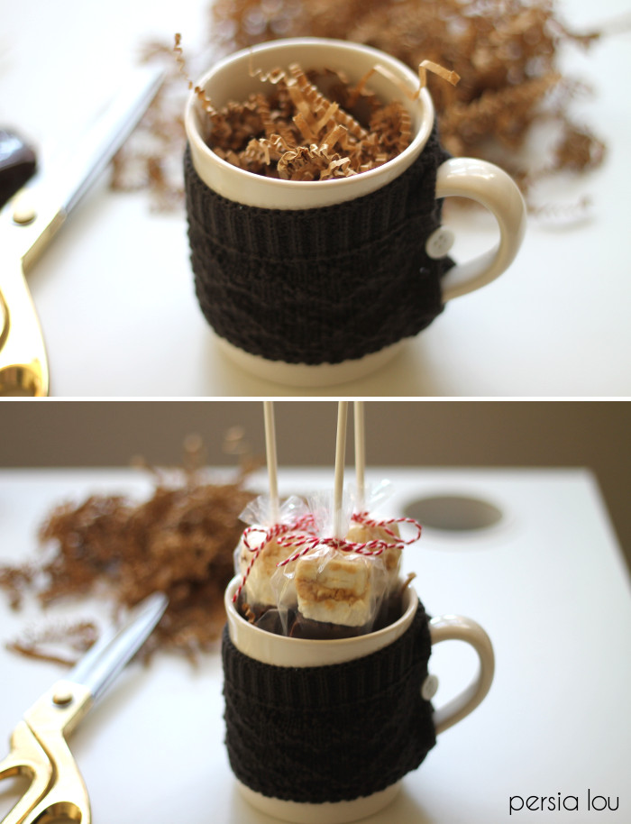 Christmas gift hamper ideas in a cup