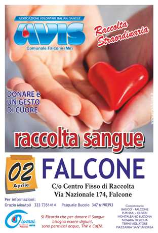 FALCONE 2 APRILE 2017 CENTRO FISSO DI RACCOLTA IN VIA NAZIONALE, 174