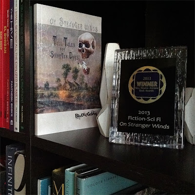 Short story complication with spooky autumn fantasy tales wins the 2013 New Mexico/Arizona Book Awards for the Science Fiction category