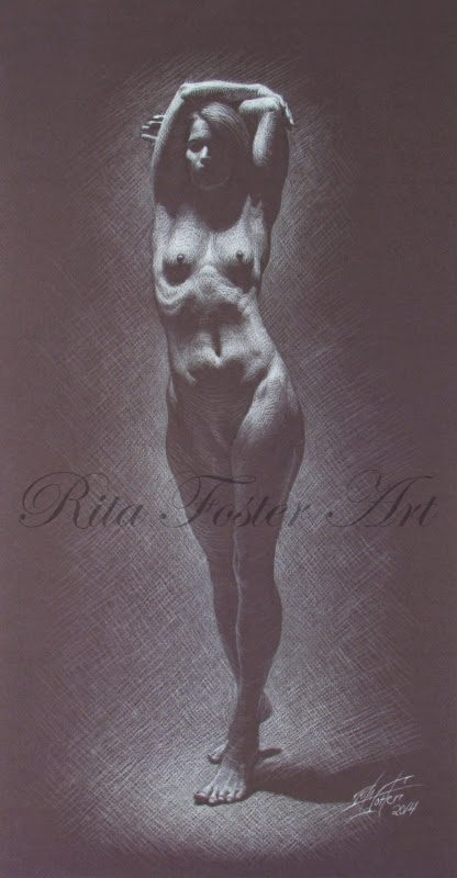 Chiaroscuro Drawing Chiaroscuro Female Nude