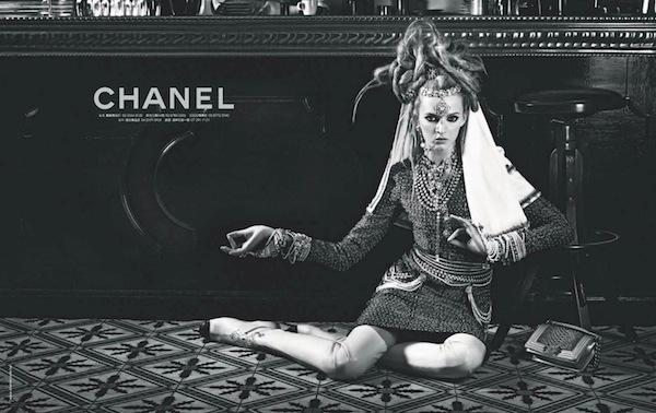 chanel advertising 2012