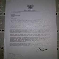 Foto Gambar Surat Diki Candra Mundur dari Wakil Bupati Garut Lengkap