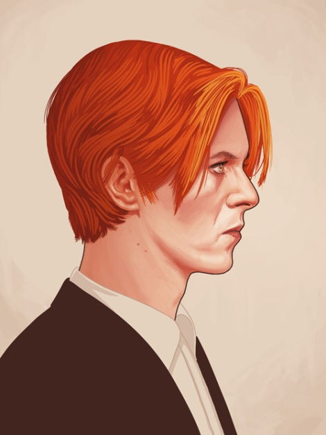 Bowie by Mike Mitchell