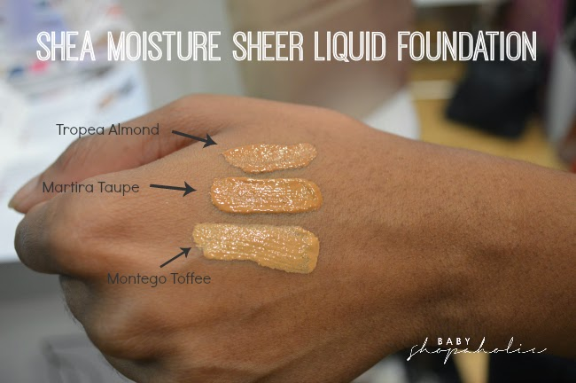 Sheer Liquid Foundation