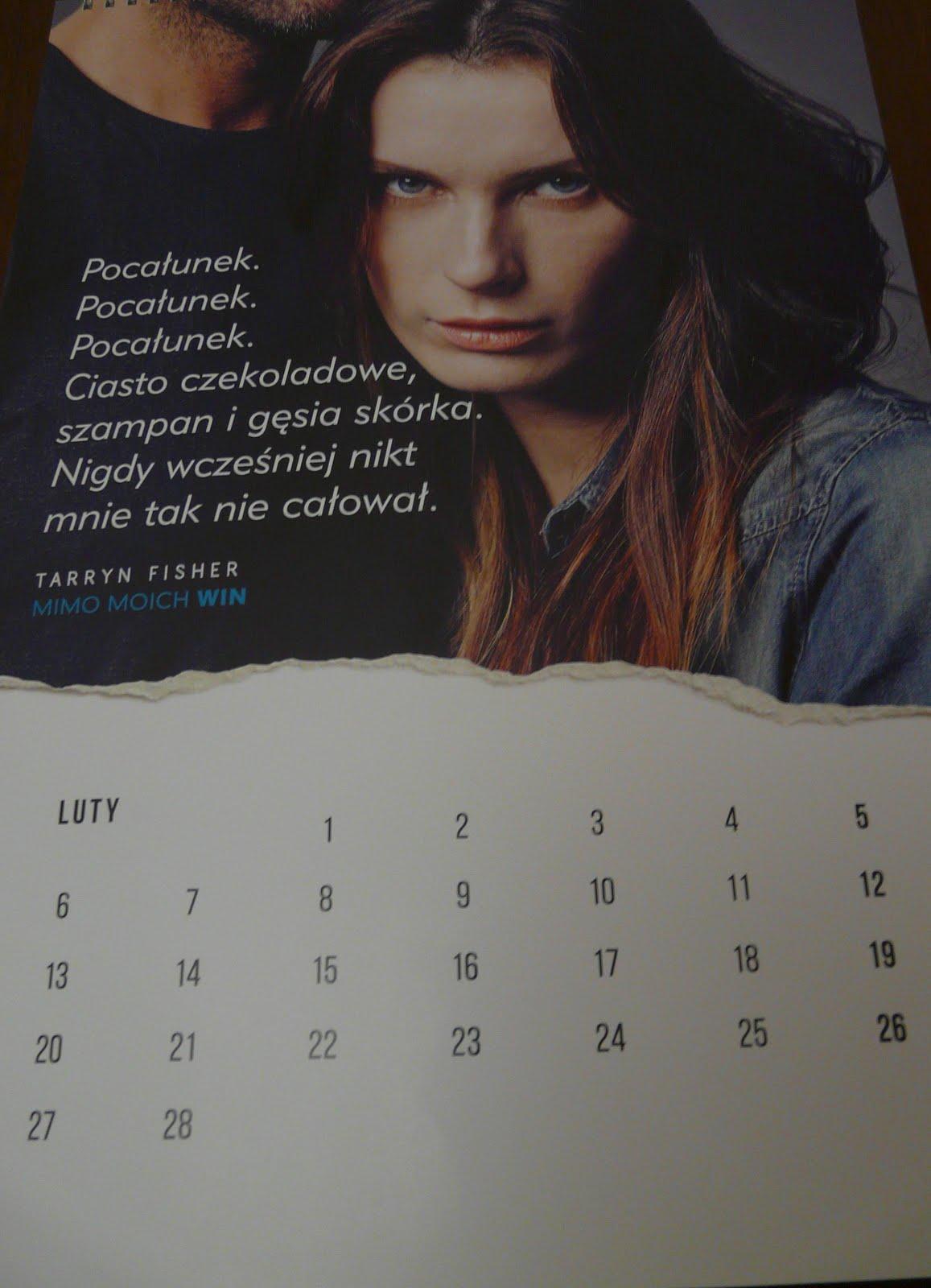 Kartka z kalendarza - luty